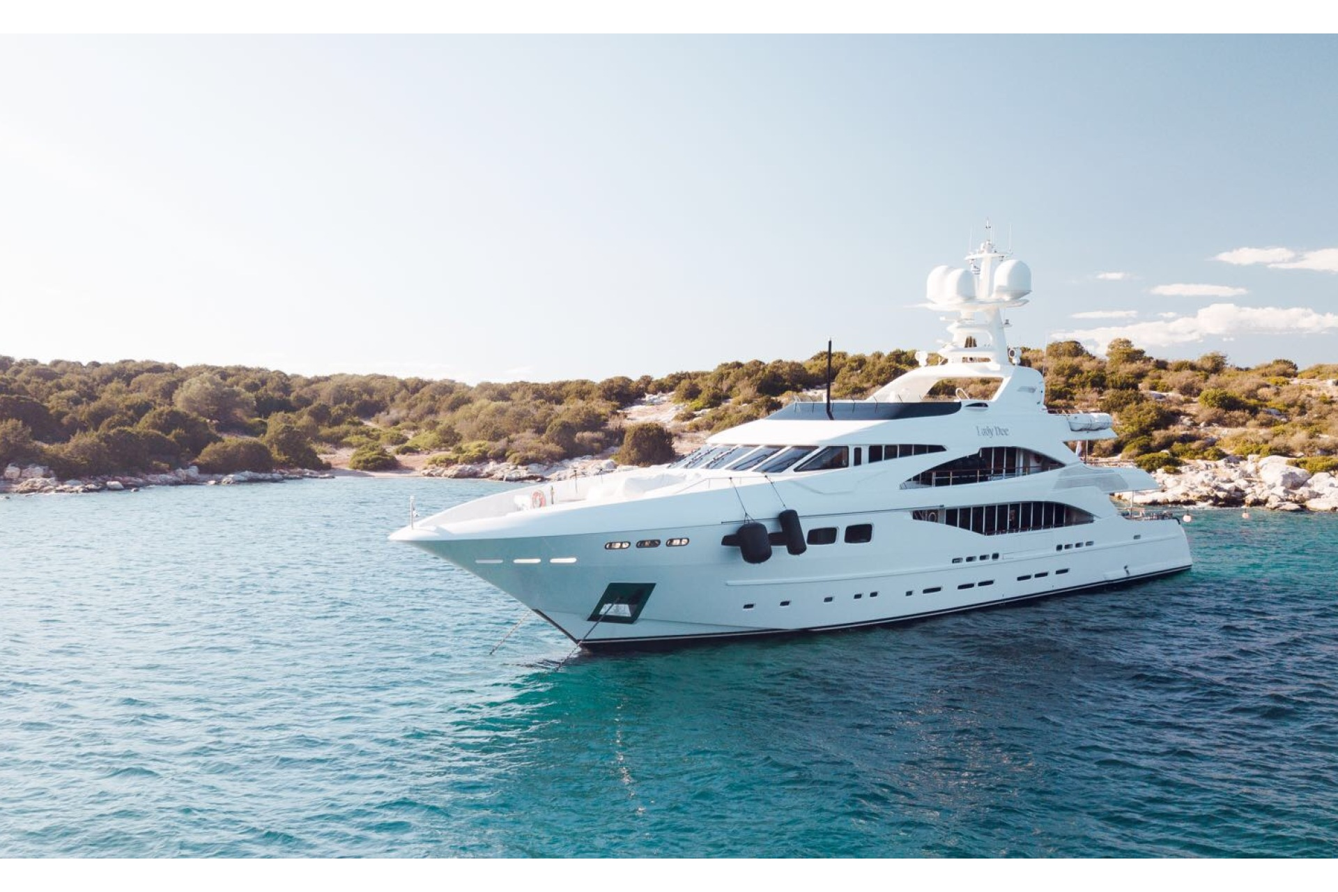 Superyacht Lady Dee